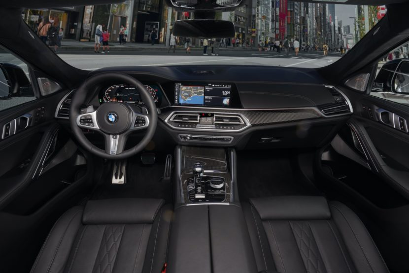 2020 BMW X6 interior design 04 830x553