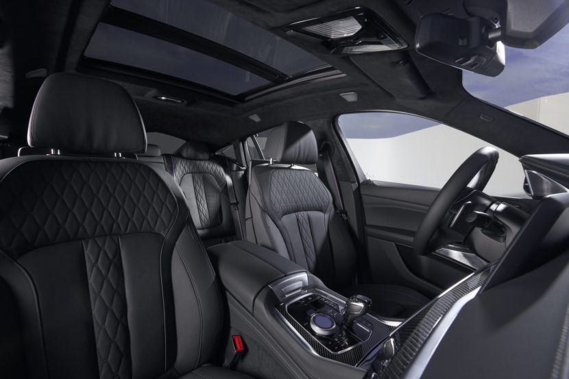 2020 BMW X6 interior design 07 830x553