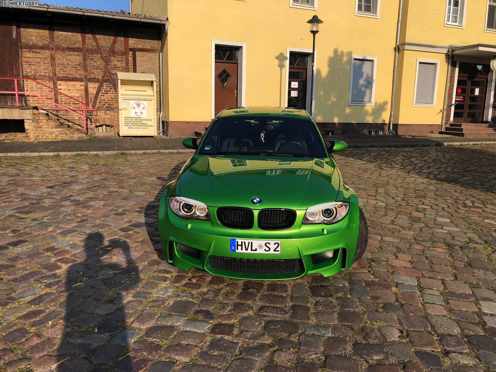 BMW 1M Green mamba java green 06