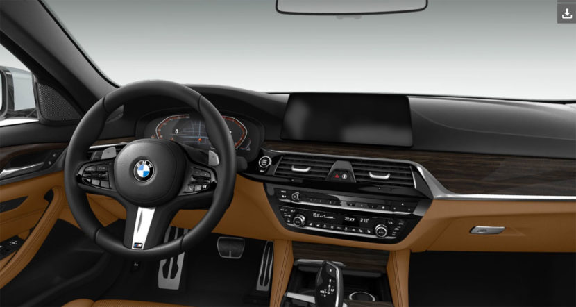 BMW 5 Series Live Cockpit Professional 830x442