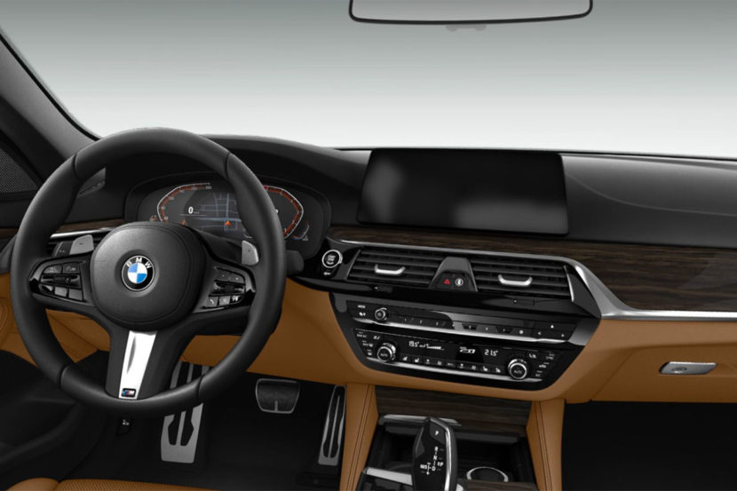 BMW 5 Series Live Cockpit Professional 830x553