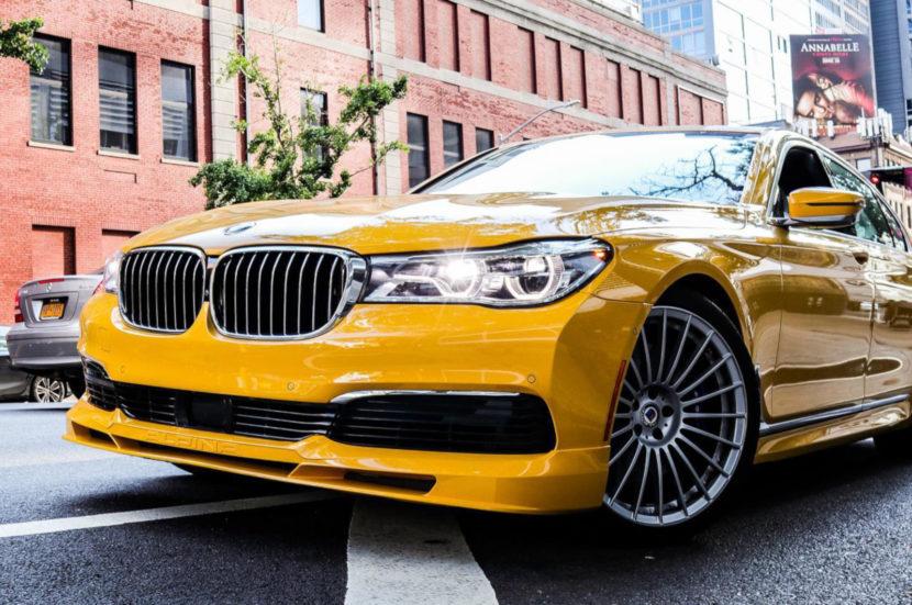 BMW Alpina B7 Individual Speed Yellow New York 02 830x551