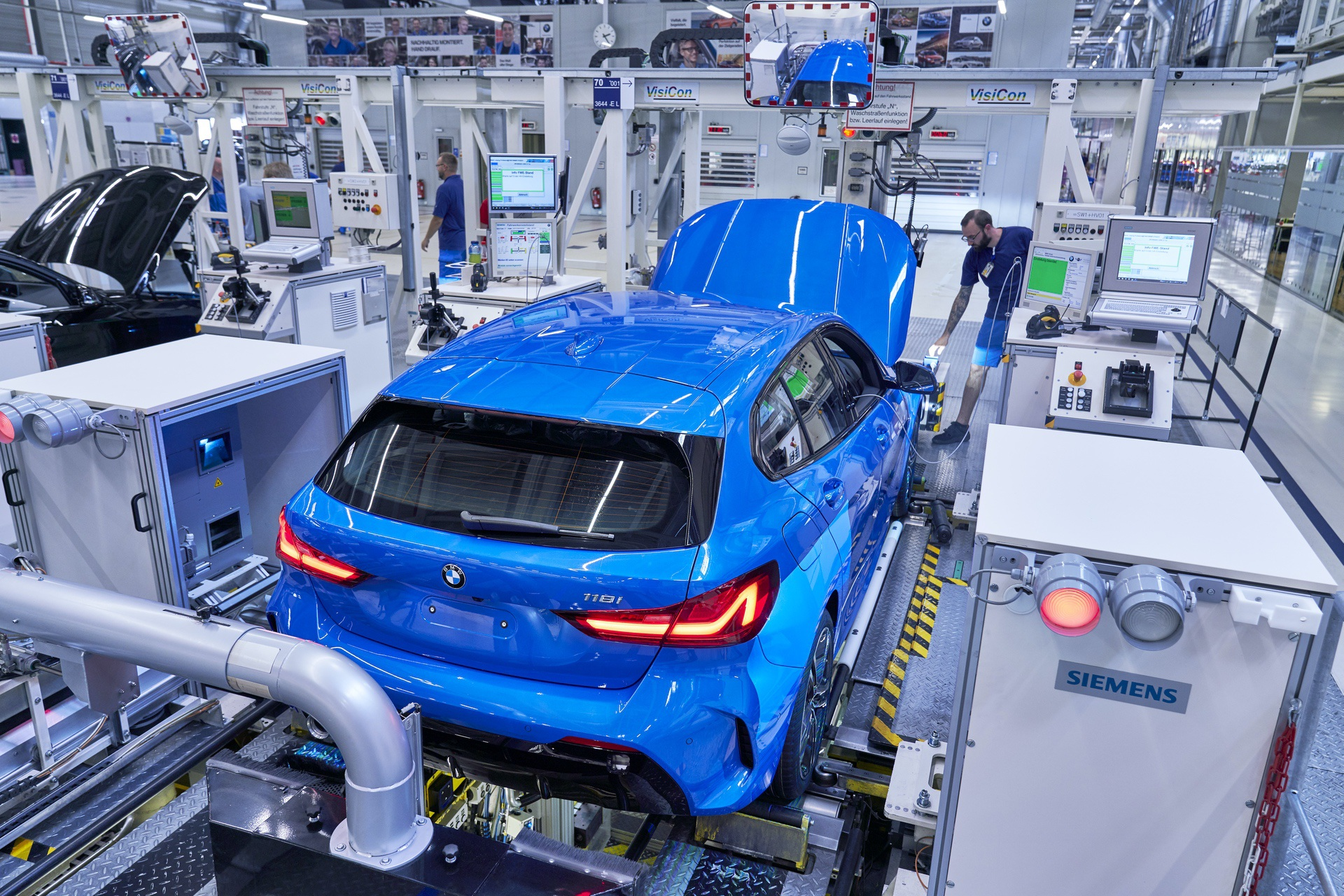 Bmw Plant Leipzig Production Of The New 1 Series F40 Started