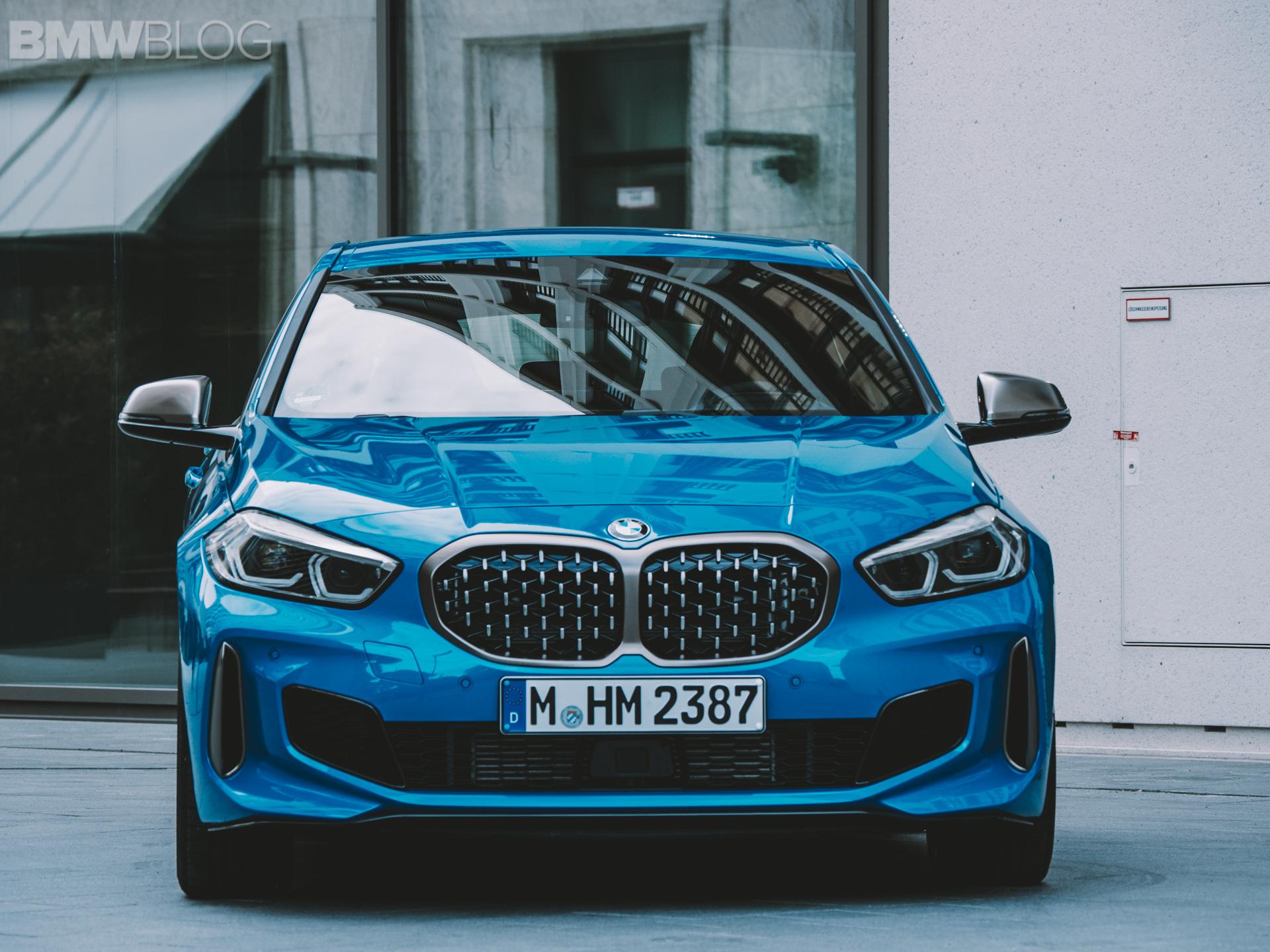 BMW M135I xDrive test drive 11