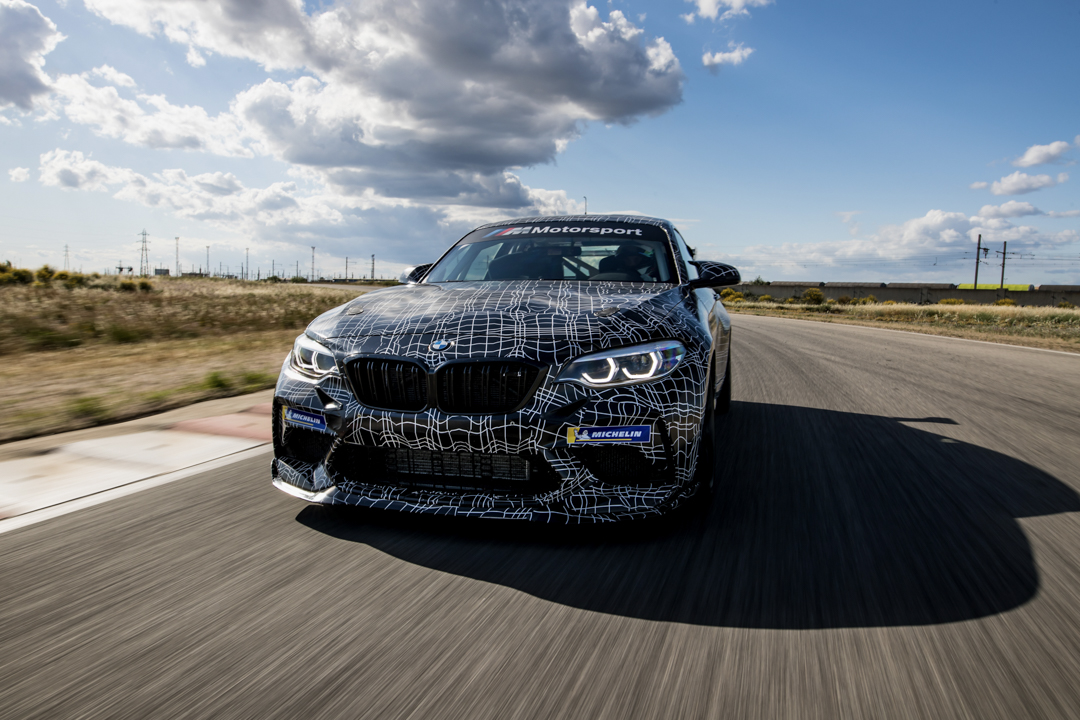 The BMW M2 CS could also bring a racecar twin