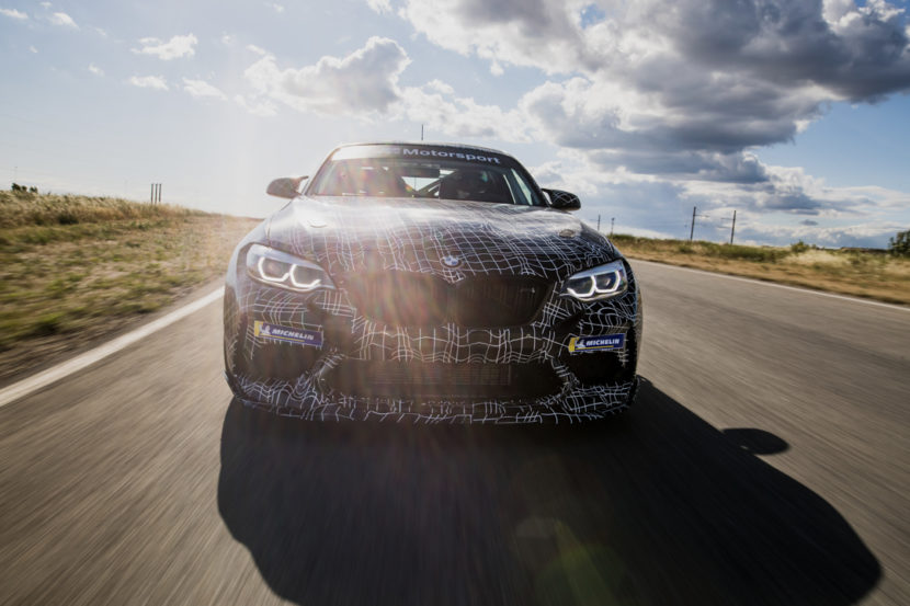 BMW M2 Competition Customer Racing Car 2 of 3 830x553