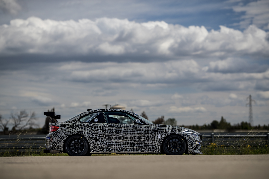 bmw m2 competition customer racing car to debut on nordschleife