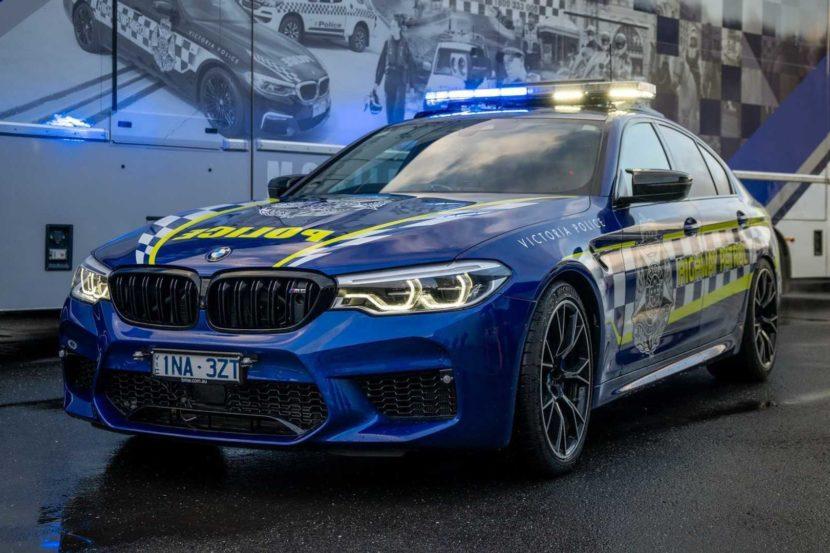 BMW M5 Australia police 02 830x553