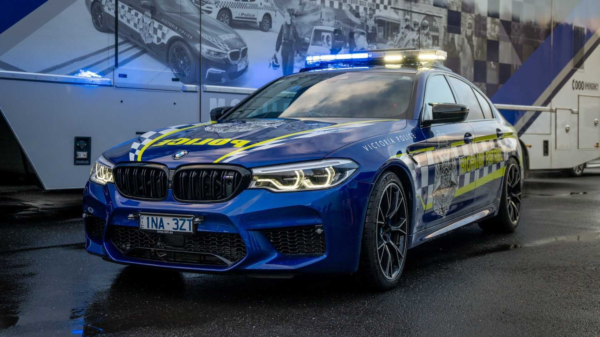 BMW M5 Competition Is Now The Fastest Police Car In Australia