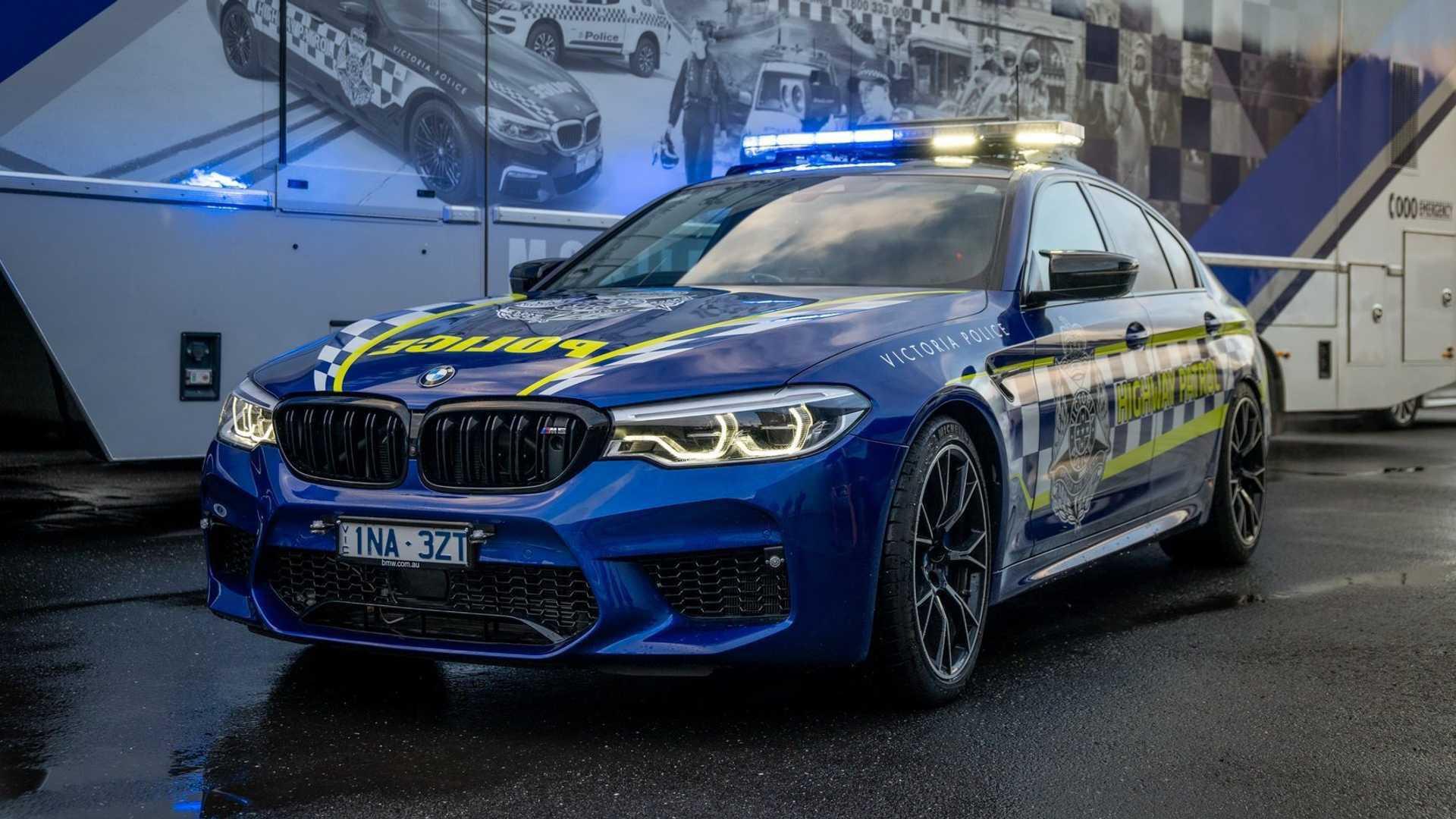 BMW M5 Australia police 02