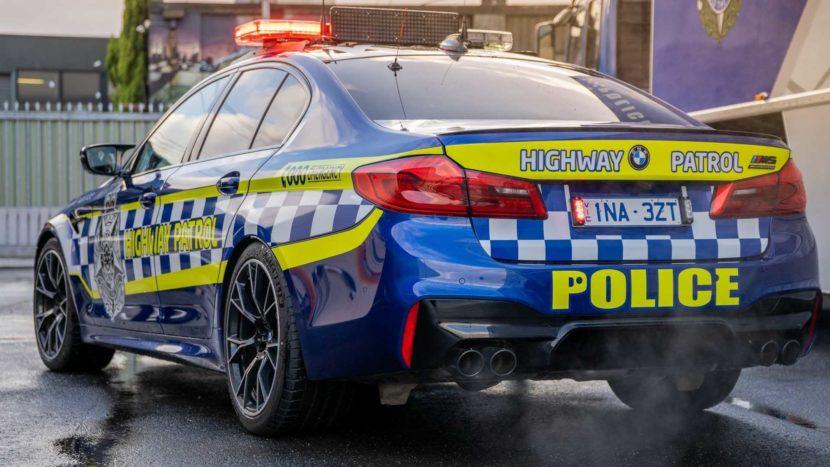 BMW M5 Australia police 04 830x467