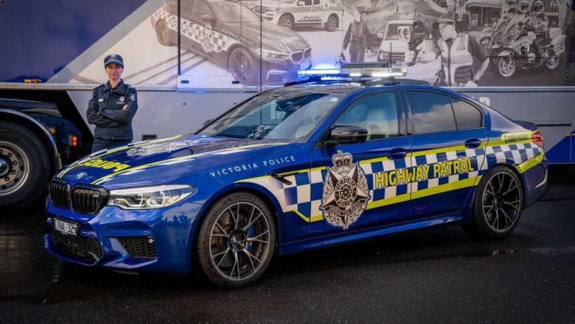 BMW M5 Australia police 11 830x467