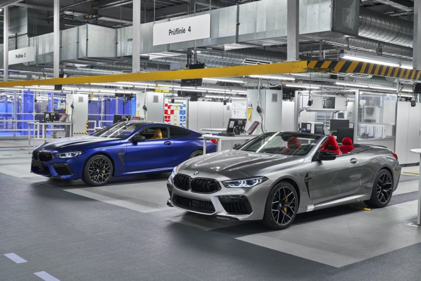BMW M8 Coupe Convertible Dingolfing 15 830x553