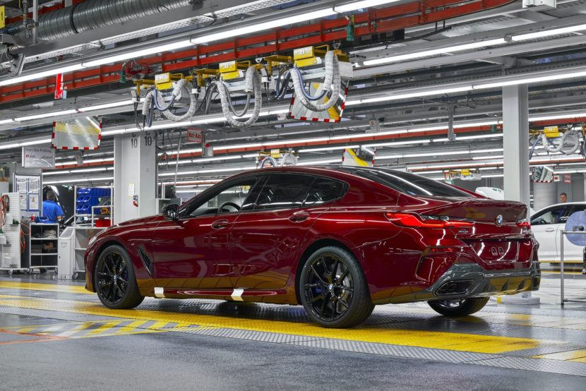 BMW M8 Gran Coupe red 08 830x554