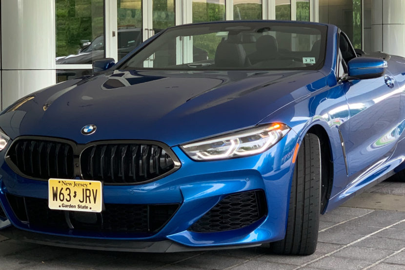 BMW M850i Convertible 1 of 1 830x553