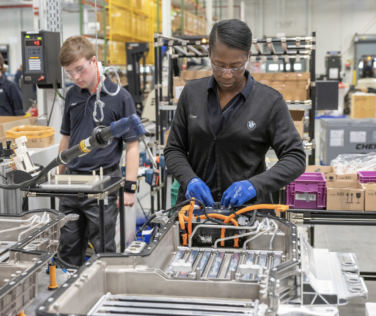 BMW Spartanburg Battery Production 1 of 5