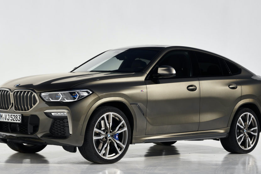 G06 BMW X6 vs Mercedes Benz GLE Coupe 7 of 10 830x553