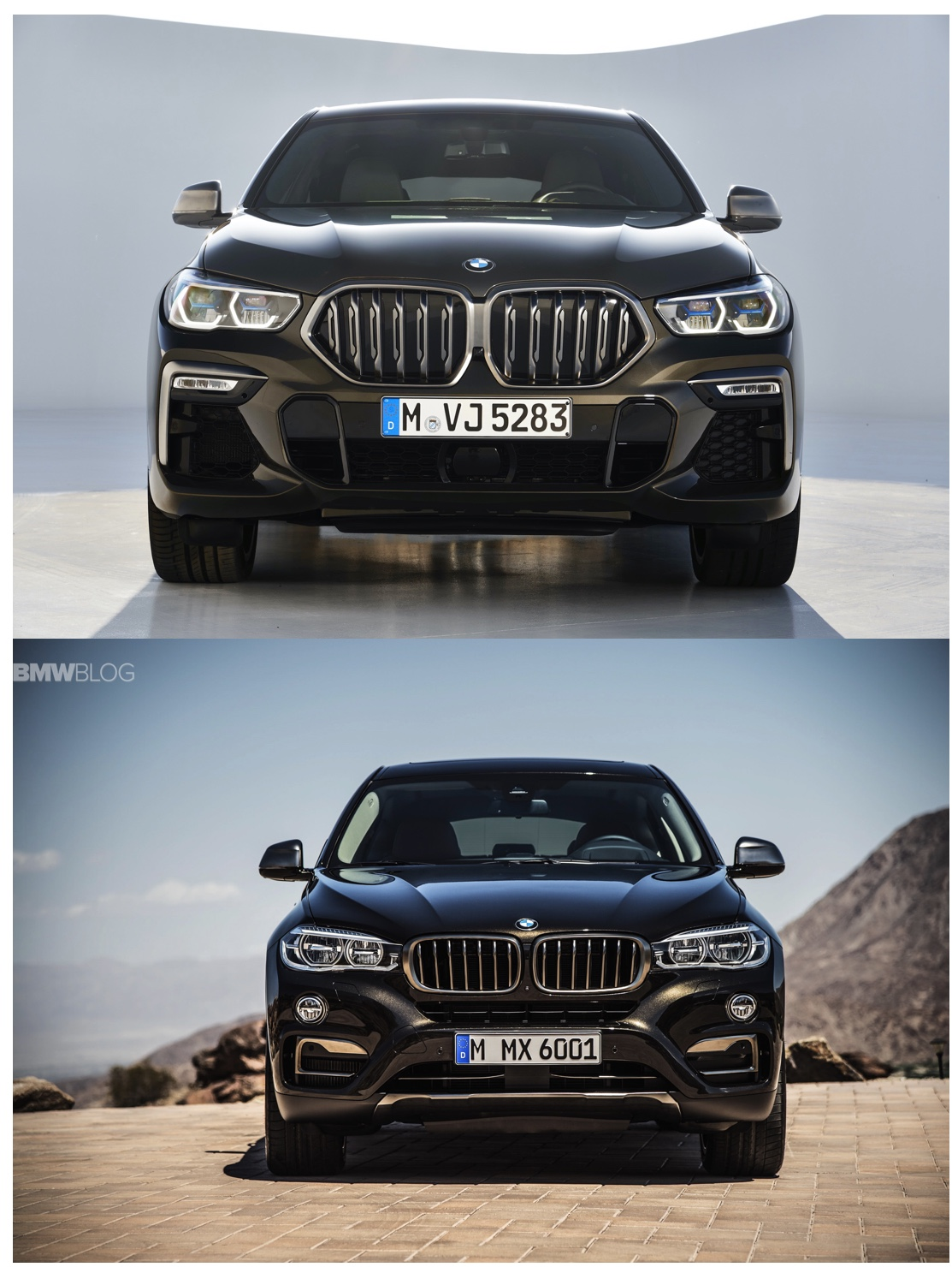 New BMW X6 vs Old BMW X6