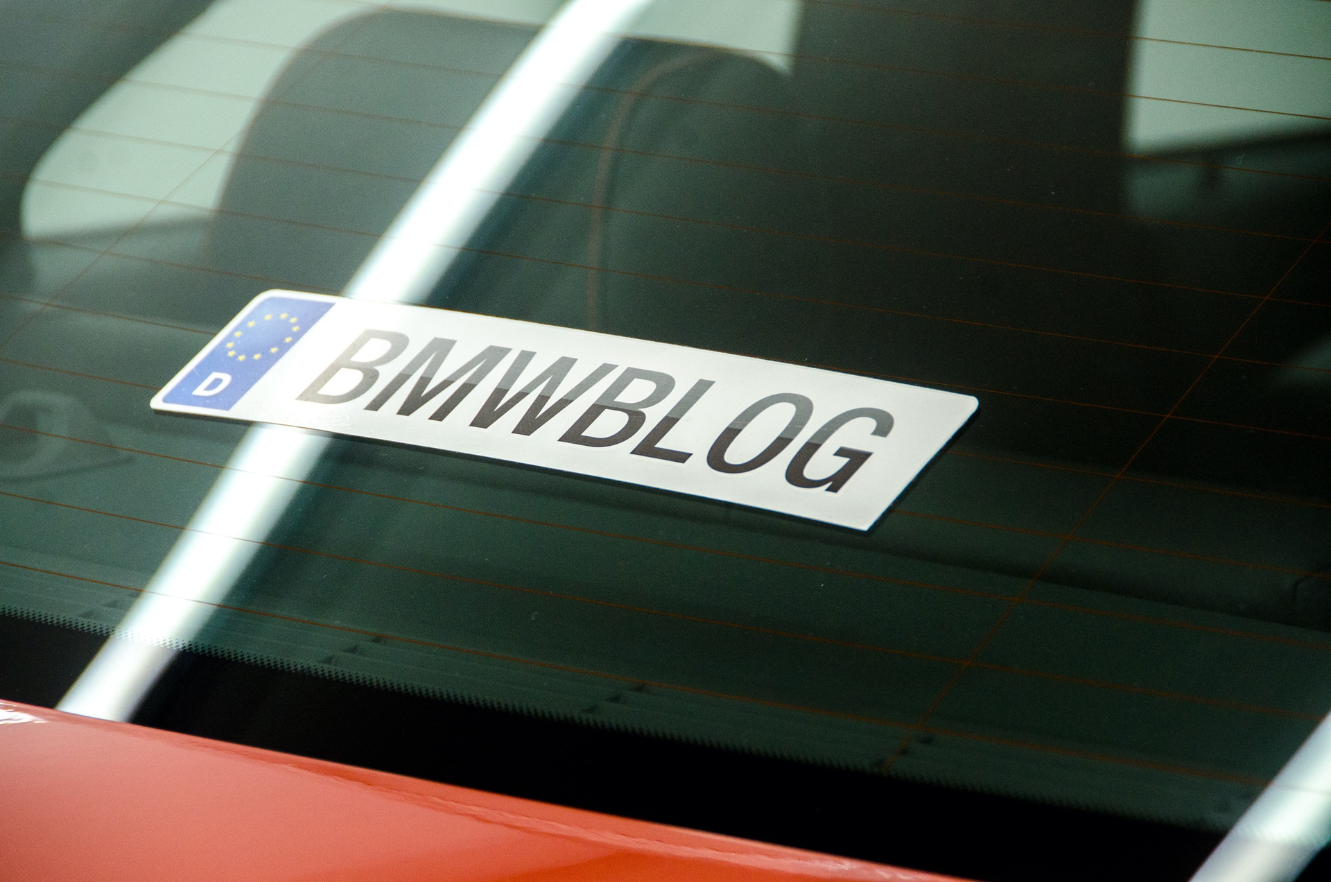 1m bmw blog back decal