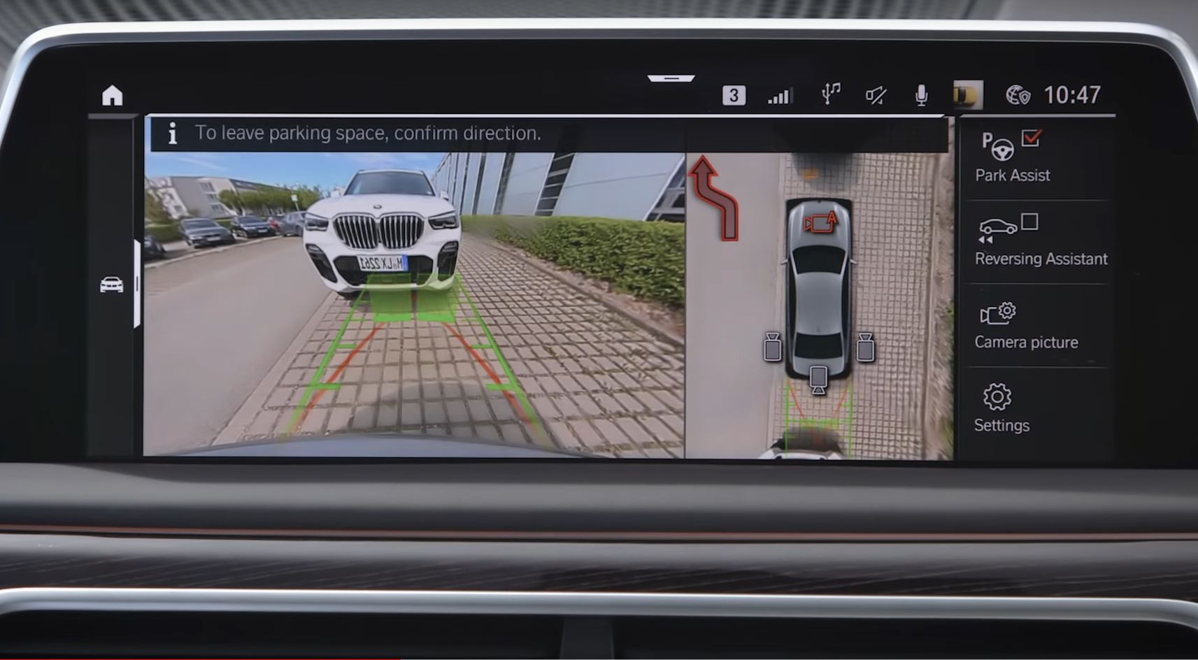 Video: BMW Park Assist Can Now Also Take You Out of a Parking Spot