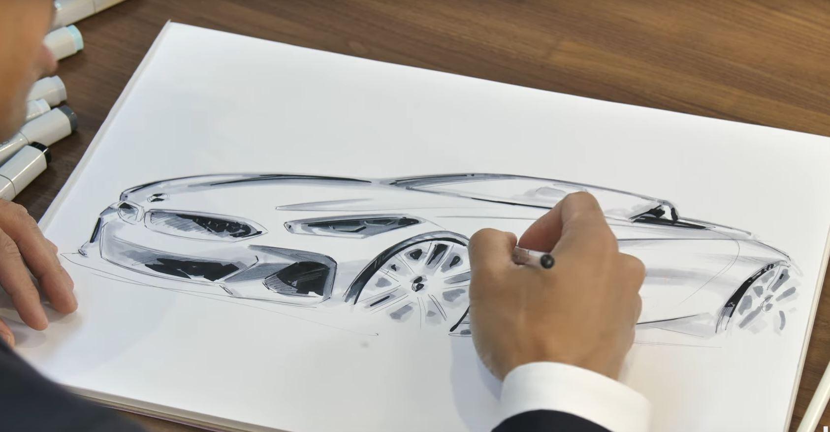 Video: Check Out BMW Designer Calvin Luk Sketch a BMW Z4
