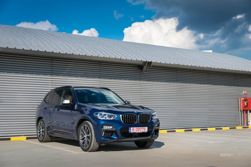 2019 BMW X3 M40i review 20 830x553