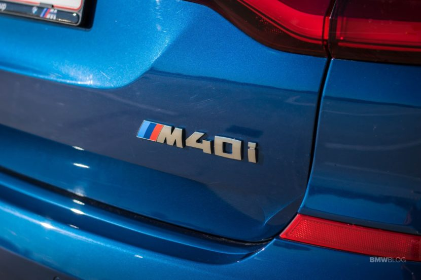 2019 BMW X3 M40i review 34 830x553