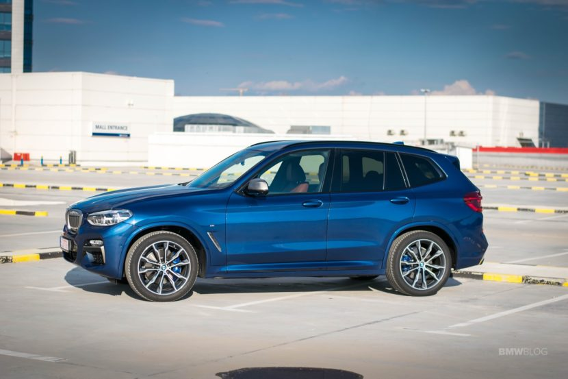 2019 BMW X3 M40i review 56 830x553