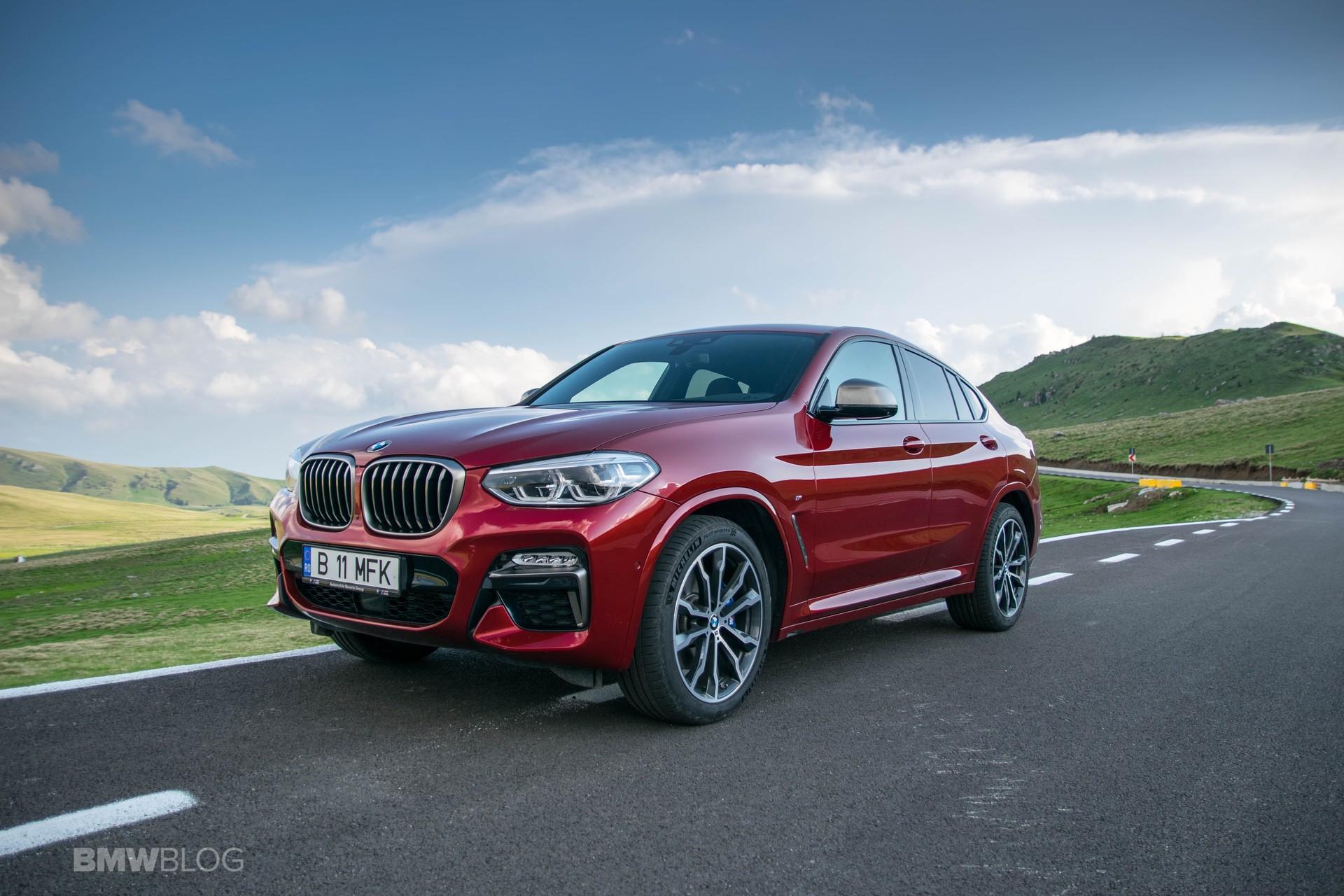 2019 BMW X4 M40d test drive 21