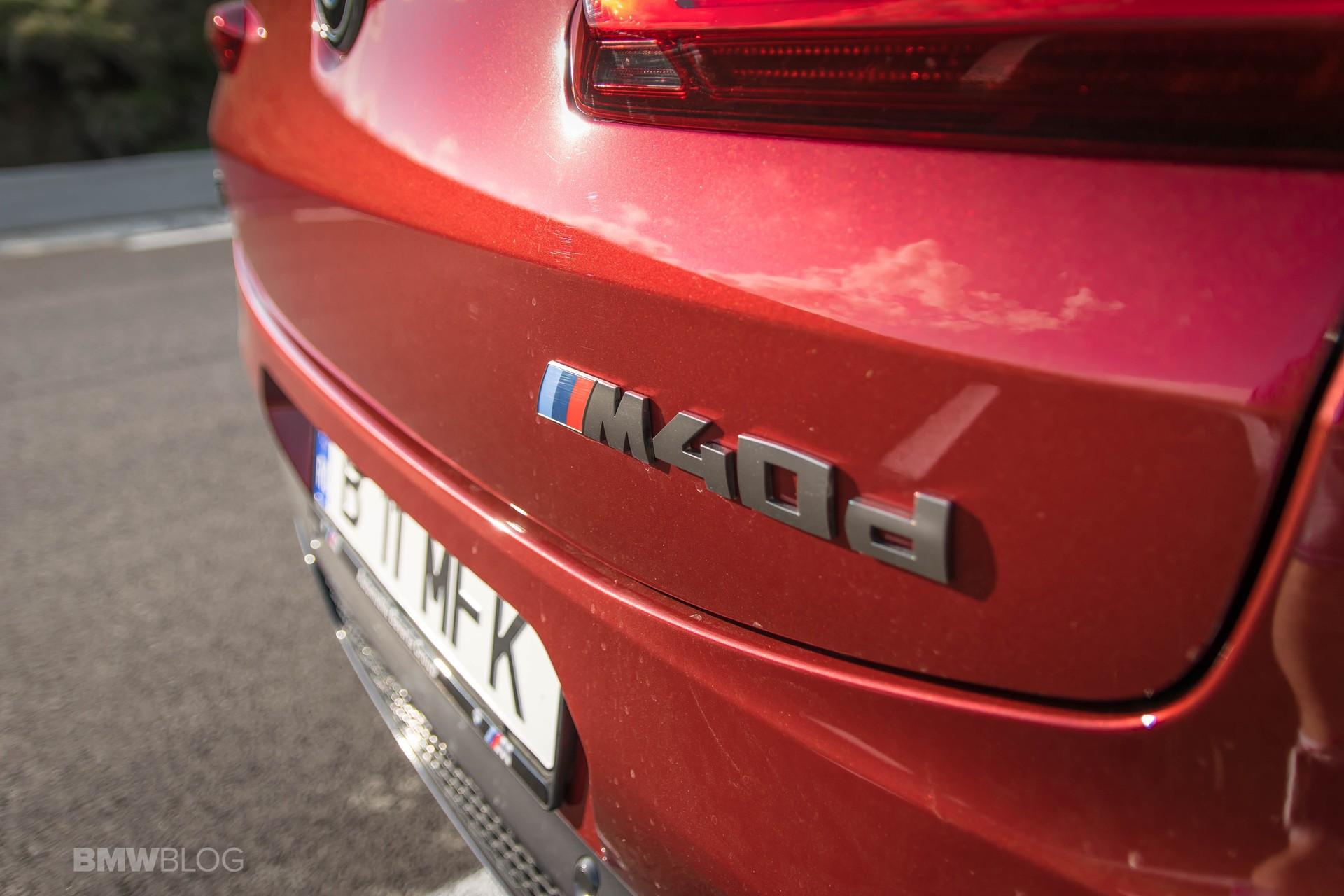2019 BMW X4 M40d test drive 30
