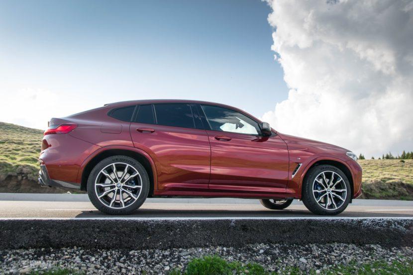2019 BMW X4 M40d test drive 32 830x553