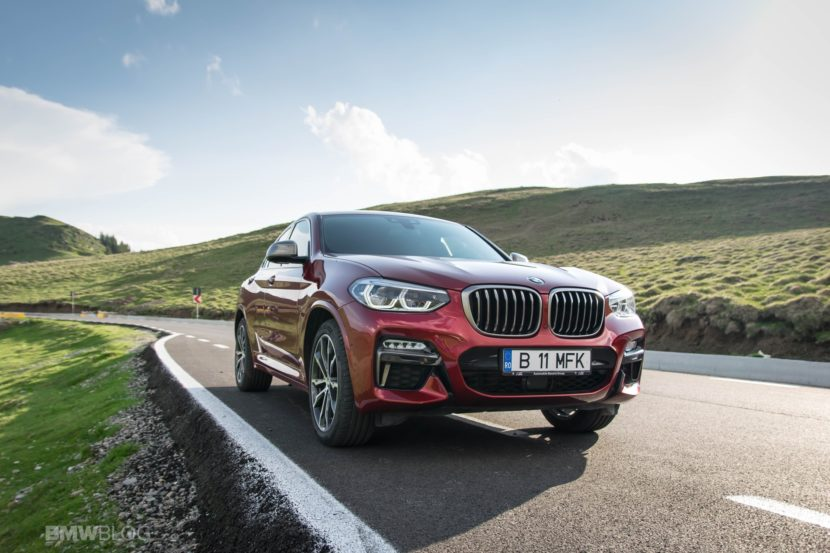 2019 BMW X4 M40d test drive 35 830x553