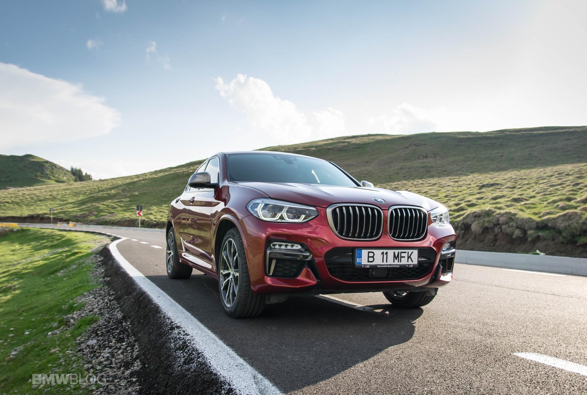 2019 BMW X4 M40d test drive 35