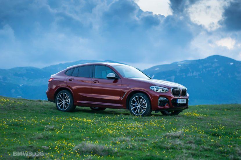 2019 BMW X4 M40d test drive 48 830x553