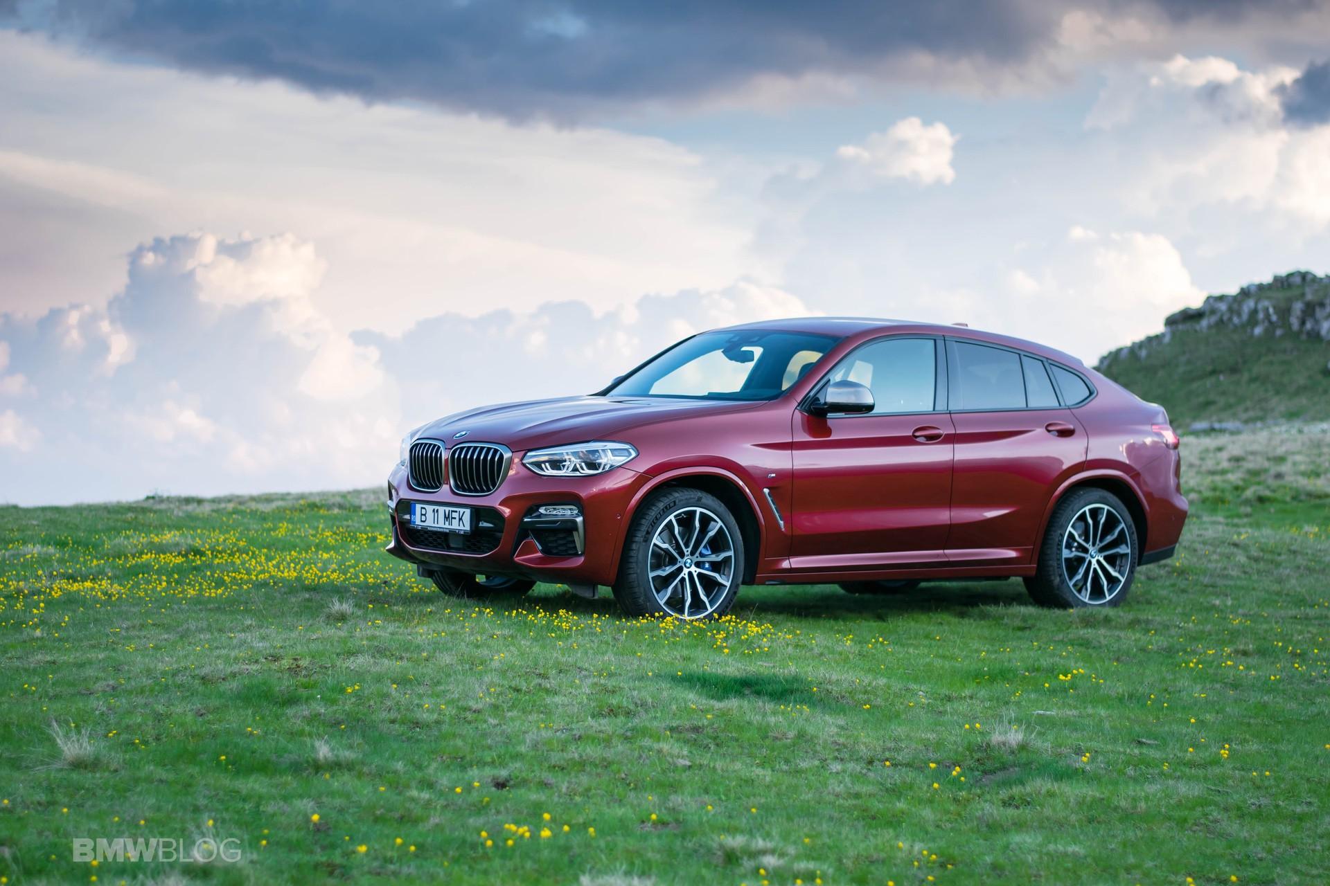 2019 BMW X4 M40d test drive 53