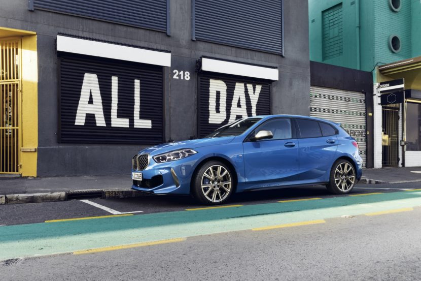 BMW launches the marketing campaign for the new 1 Series