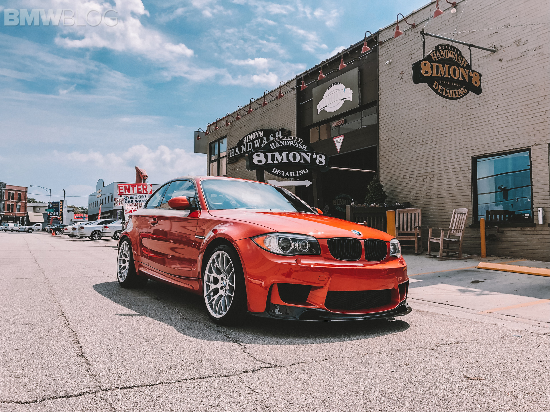 Our BMW 1M gets some detailing love from Dr. Beasley's