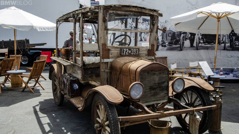 Ragged Ford Model T at Laguna Seca Monterey Car Week