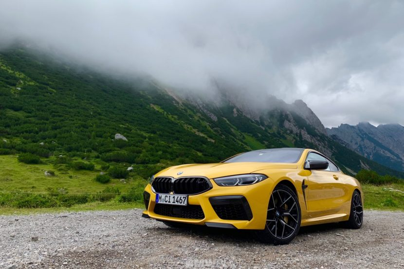 BMW M8 Speed Yellow 1 830x553