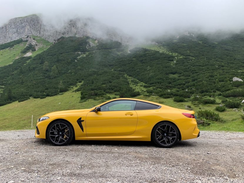 BMW M8 Speed Yellow 4 830x623