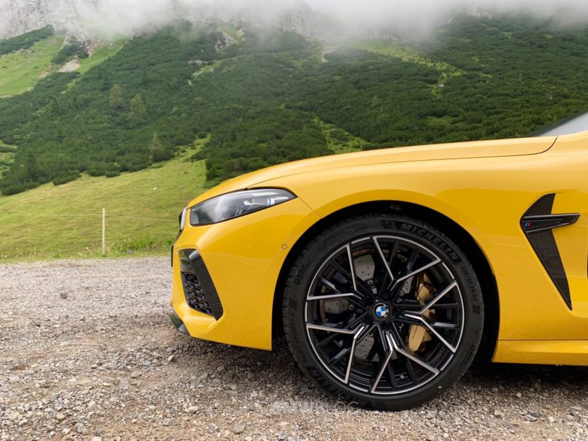 BMW M8 Speed Yellow 5 830x623