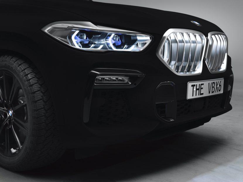 BMW X6 Vantablack 2 830x622