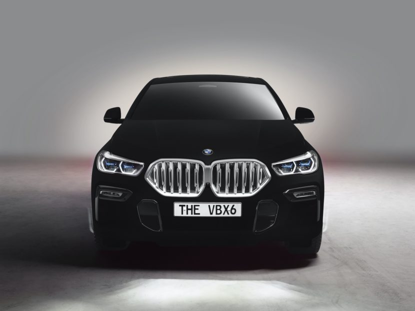 BMW X6 Vantablack 4 830x622