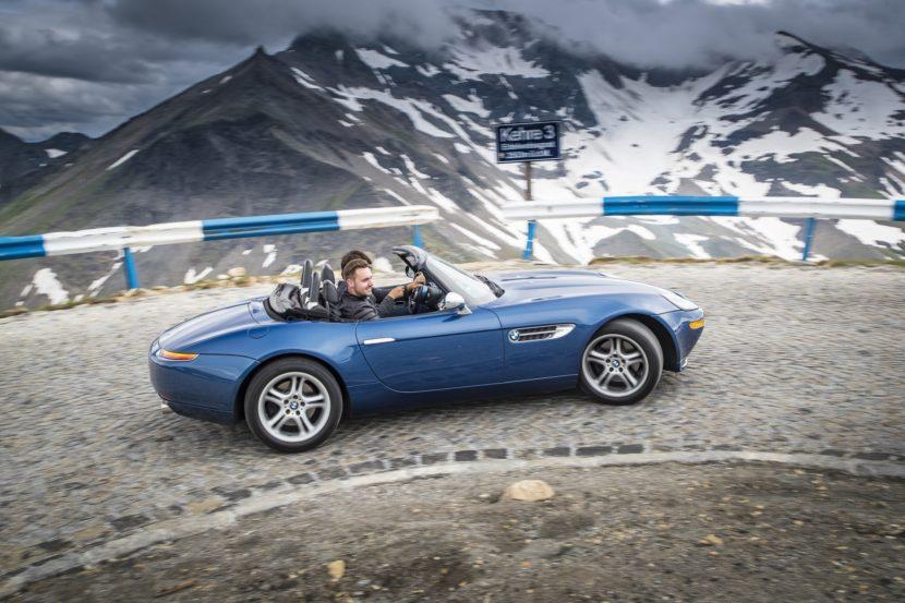 BMW Z8 test drive 13 830x553