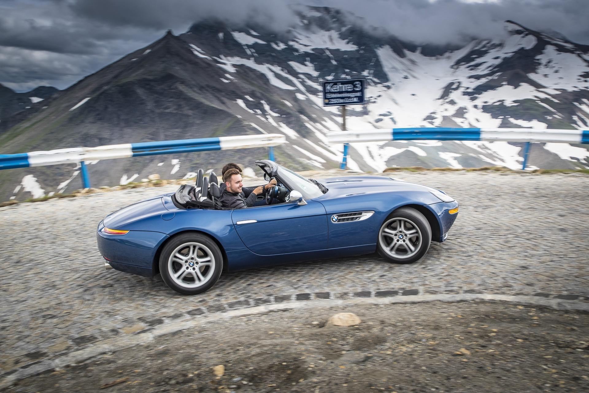 BMW Z8 test drive 13