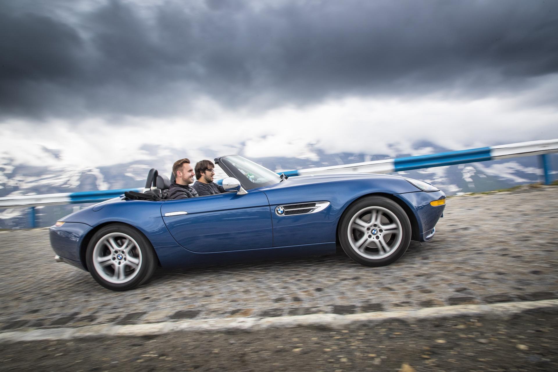 BMW Z8 test drive 14