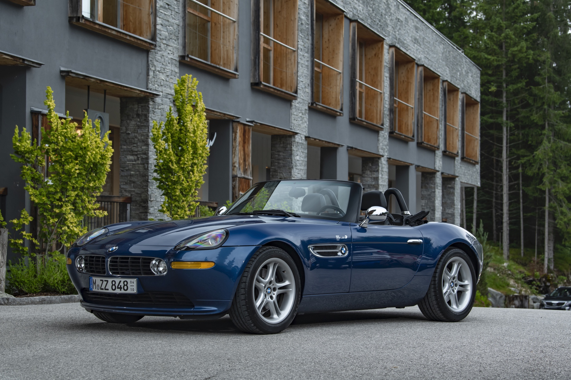 BMW Z8 test drive review 01