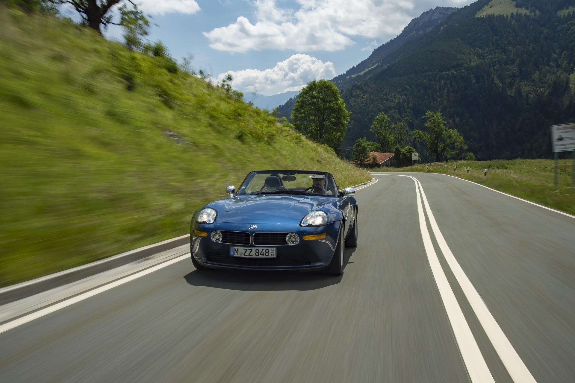 BMW Z8 test drive review 28