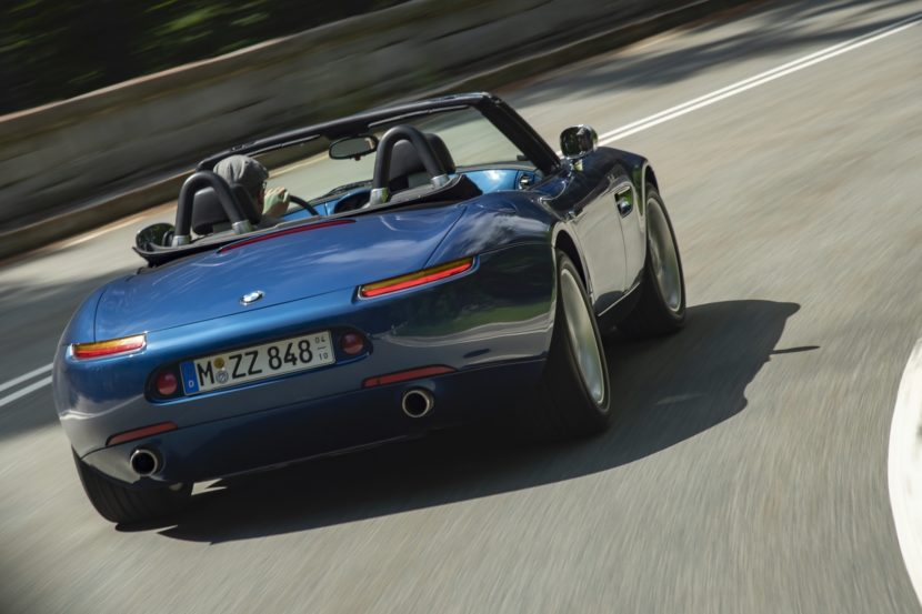 BMW Z8 test drive review 33 830x553
