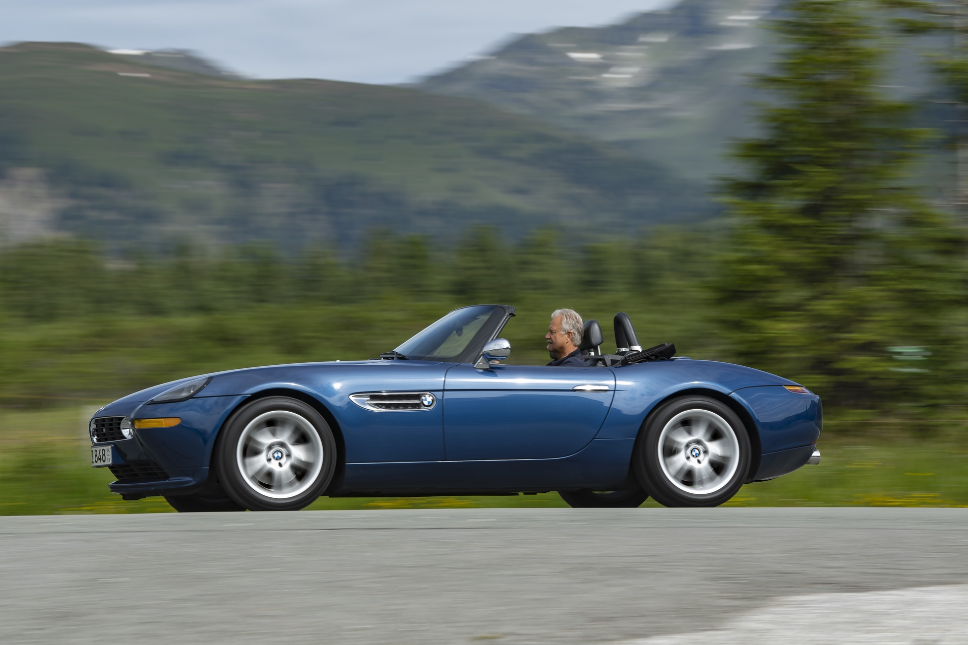 BMW Z8 test drive review 39